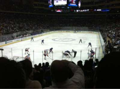Madison Square Garden, section: 113, row: 15, seat: 9