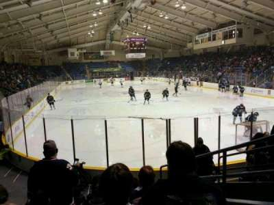 Cambria County War Memorial Arena, section: 19, row: H, seat: 8