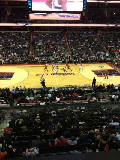 Verizon Center, section: 200, row: A, seat: 4