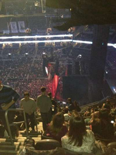 Barclays Center, section: 205, row: 15, seat: 25