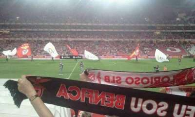 Estádio da Luz, section: 1, row: 15