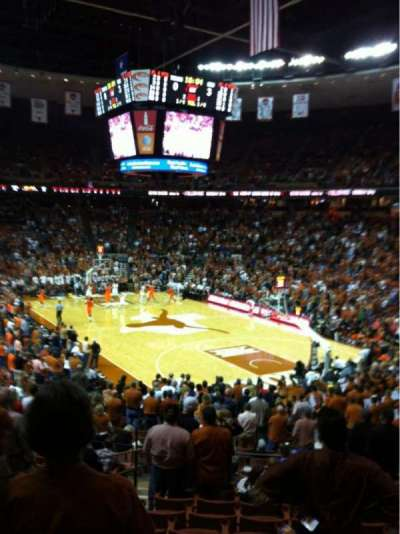 Frank Erwin Center, section: 40, row: 28, seat: 3
