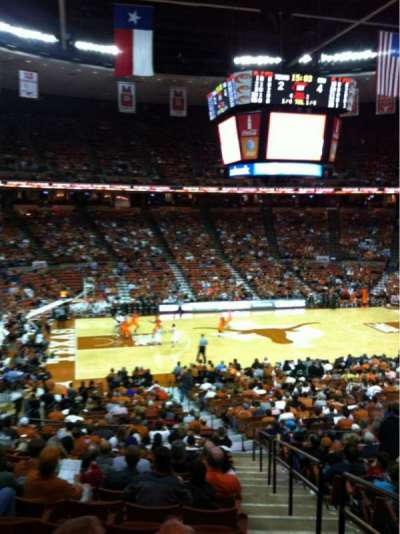 Frank Erwin Center, section: 33, row: 31, seat: 1