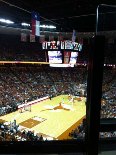 Frank Erwin Center, section: 72, row: 1, seat: 1