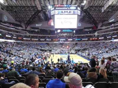 American Airlines Center section 113