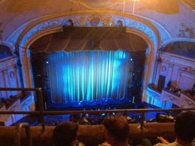 Merriam Theater, section: F, row: C, seat: 113