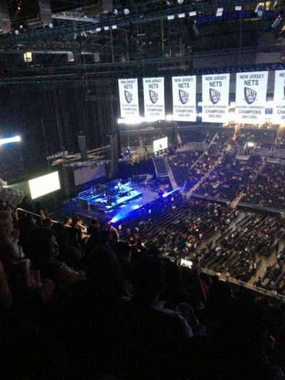 Barclays Center, section: 222, row: 15, seat: 7