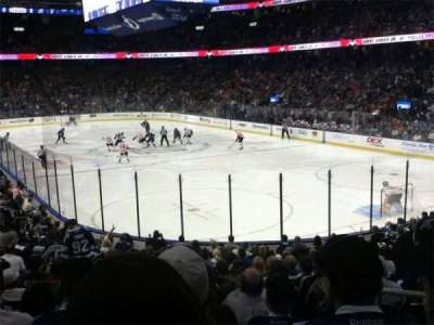 Amalie Arena, section: 110, row: V, seat: 17