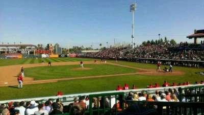 Scottsdale Stadium, section: 209, row: M, seat: 2