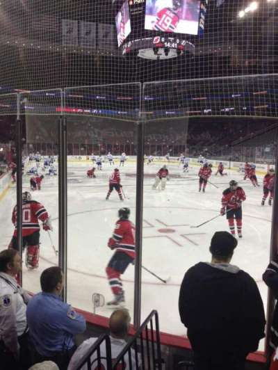 Prudential Center, section: 12, row: 4, seat: 6