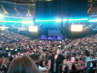 Spectrum Center, section: 116, row: M, seat: 15