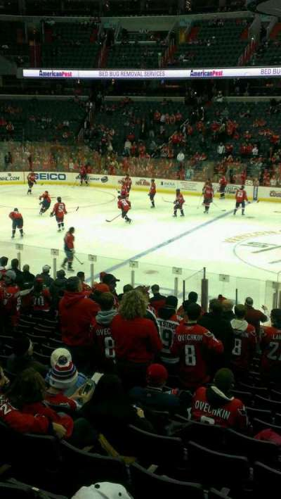 Verizon Center, section: 120, row: s, seat: 1