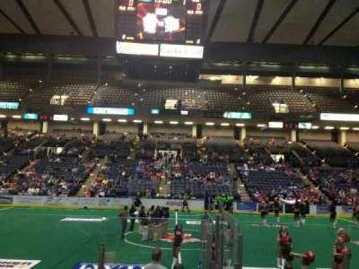 Royal Farms Arena, section: 108, row: E, seat: 14