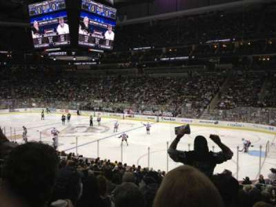 PPG Paints Arena, section: 110, row: V, seat: 10