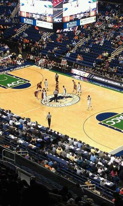 Greensboro Coliseum, section: 235