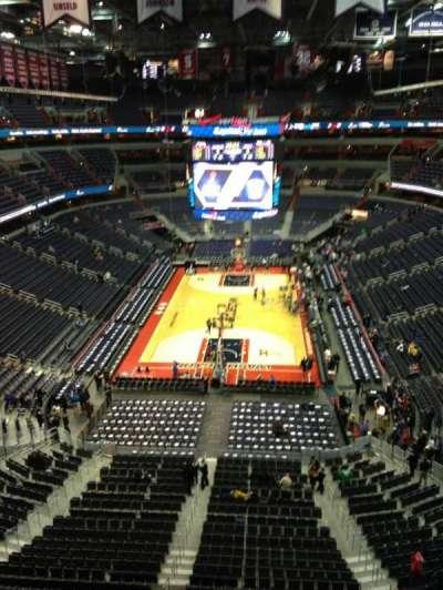 Verizon Center, section: 426, row: G, seat: 1