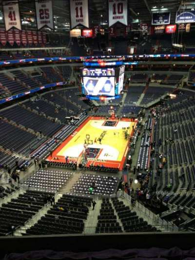 Verizon Center, section: 427, row: G, seat: 1