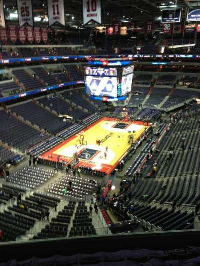 Verizon Center, section: 428, row: G, seat: 1
