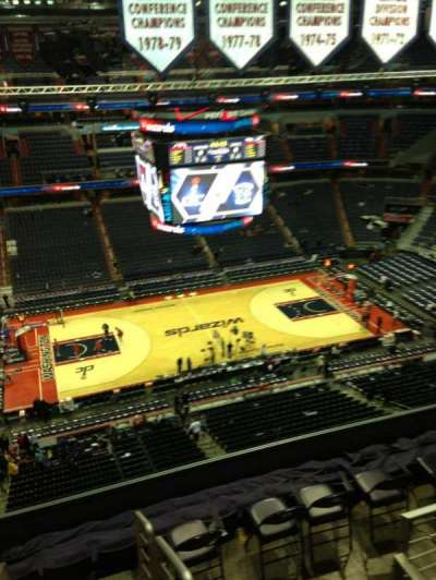 Verizon Center, section: 433, row: G, seat: 1
