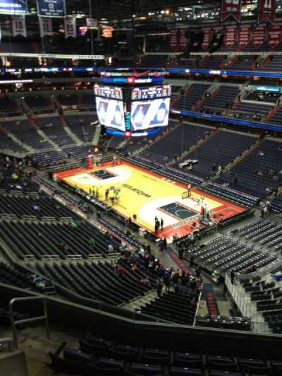 Capital One Arena, section: 407, row: G, seat: 1