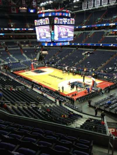 Verizon Center, section: 220, row: F, seat: 1