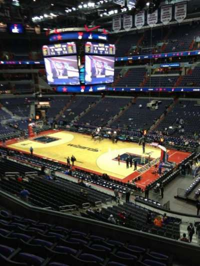 Verizon Center, section: 219, row: F, seat: 1