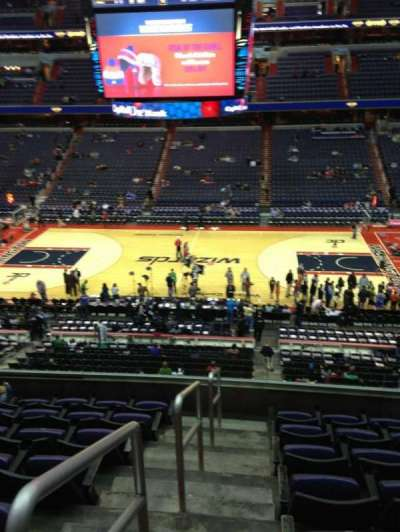 Verizon Center, section: 201, row: F, seat: 1