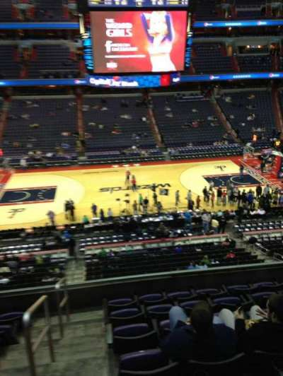 Verizon Center, section: 200, row: F, seat: 1