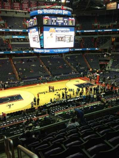 Verizon Center, section: 229, row: F, seat: 1