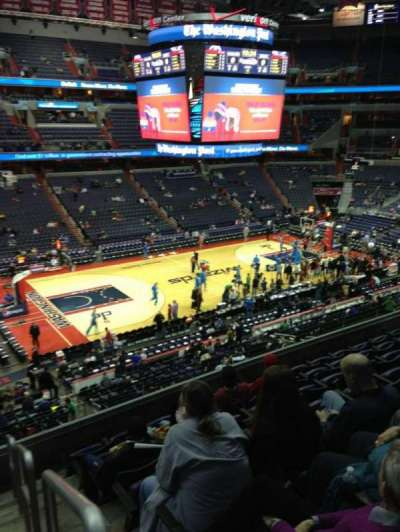 Verizon Center, section: 228, row: F, seat: 1