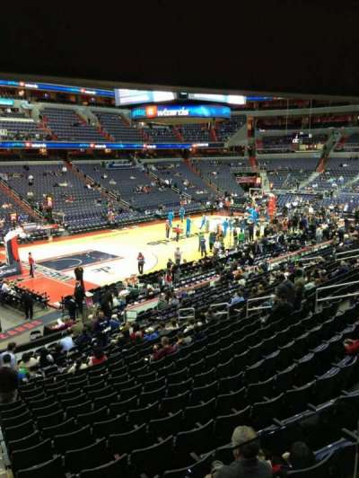 Verizon Center, section: 119, row: R, seat: 20