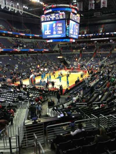 Capital One Arena, section: 109, row: R, seat: 20