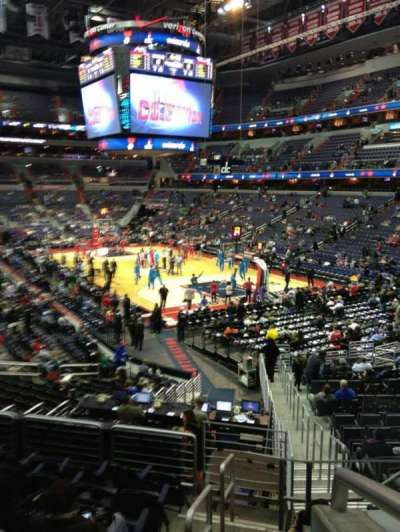 Verizon Center, section: 103, row: R, seat: 20