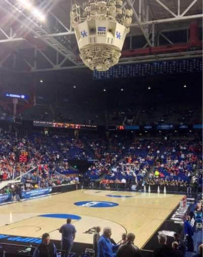 Rupp Arena, section: 38, row: MM, seat: 3