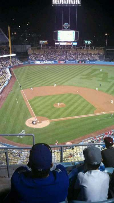 Dodger Stadium section 8TD