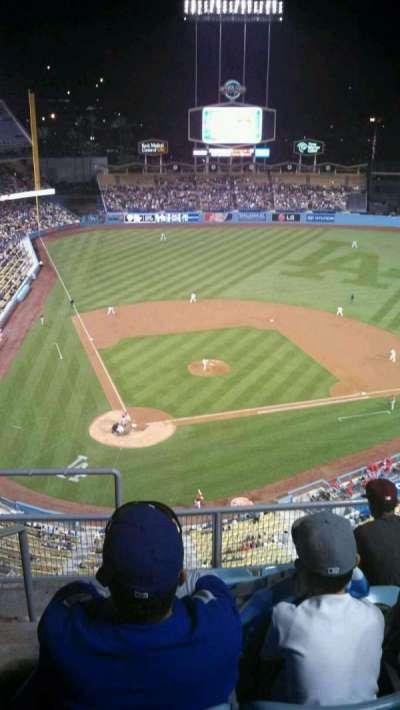 Dodger Stadium, section: 8TD, row: F, seat: 2