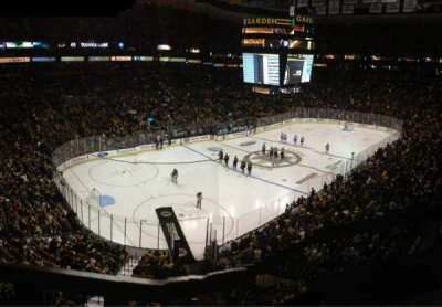 Seat view reviews from TD Garden home of Boston Bruins Boston
