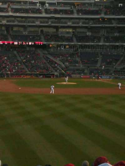 Nationals Park, section: 102, row: CC, seat: 17