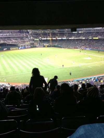Oakland Alameda Coliseum section 226