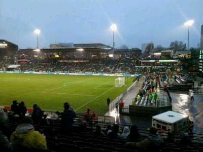 Providence Park, section: 123, row: Q, seat: 6