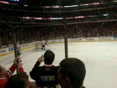 United Center, section: 102, row: 3, seat: 18