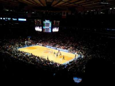 Madison Square Garden, section: 227, row: 5, seat: 12