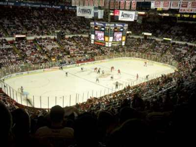 Joe Louis Arena, section: 212A, row: 20, seat: 5