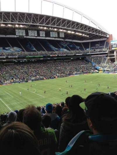 CenturyLink Field section 214