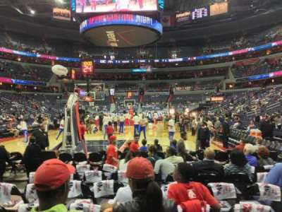 Verizon Center, section: Box West, row: JJJ, seat: 13