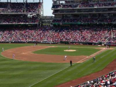 Nationals Park, section: 202, row: D, seat: 19