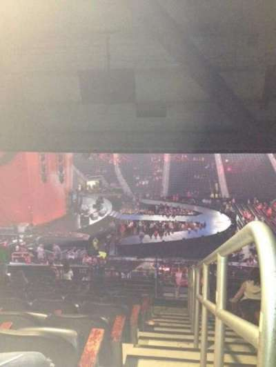 Philips Arena, section: 213, row: M and L, seat: 1 and 2