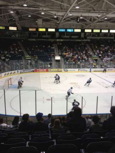 Germain Arena, section: 103, row: 13, seat: 9