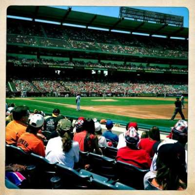 Angel Stadium, section: F127, row: F, seat: 16