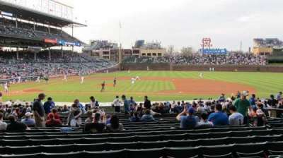 Wrigley Field, section: 129, row: 14, seat: 1